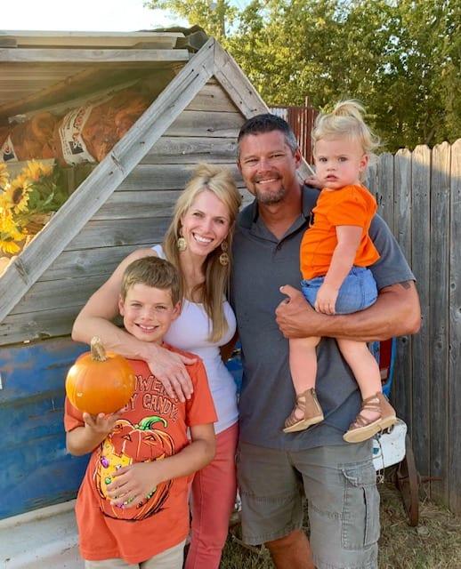 Us at Pumpkin Patch 2019